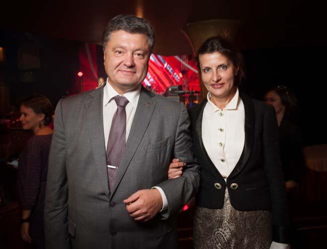Петро та Марина Порошенки - Наполеон+Бальзак