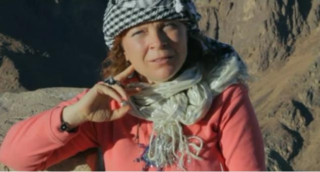 Наталя Ладіні. Гора Синай - священне місце сили