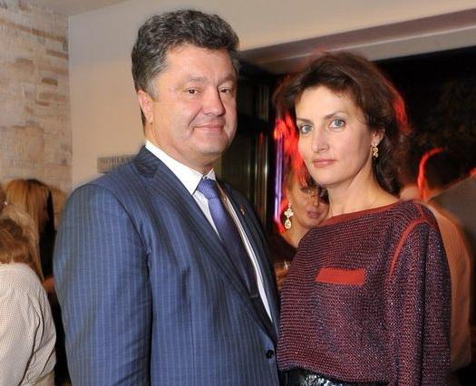 Петро та Марина Порошенки - Наполеон + Бальзак